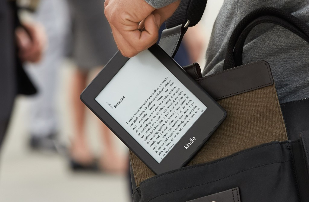 Lesebrett: Amazon Kindle