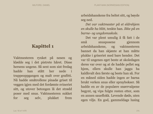 E-bøker Kindle iPad