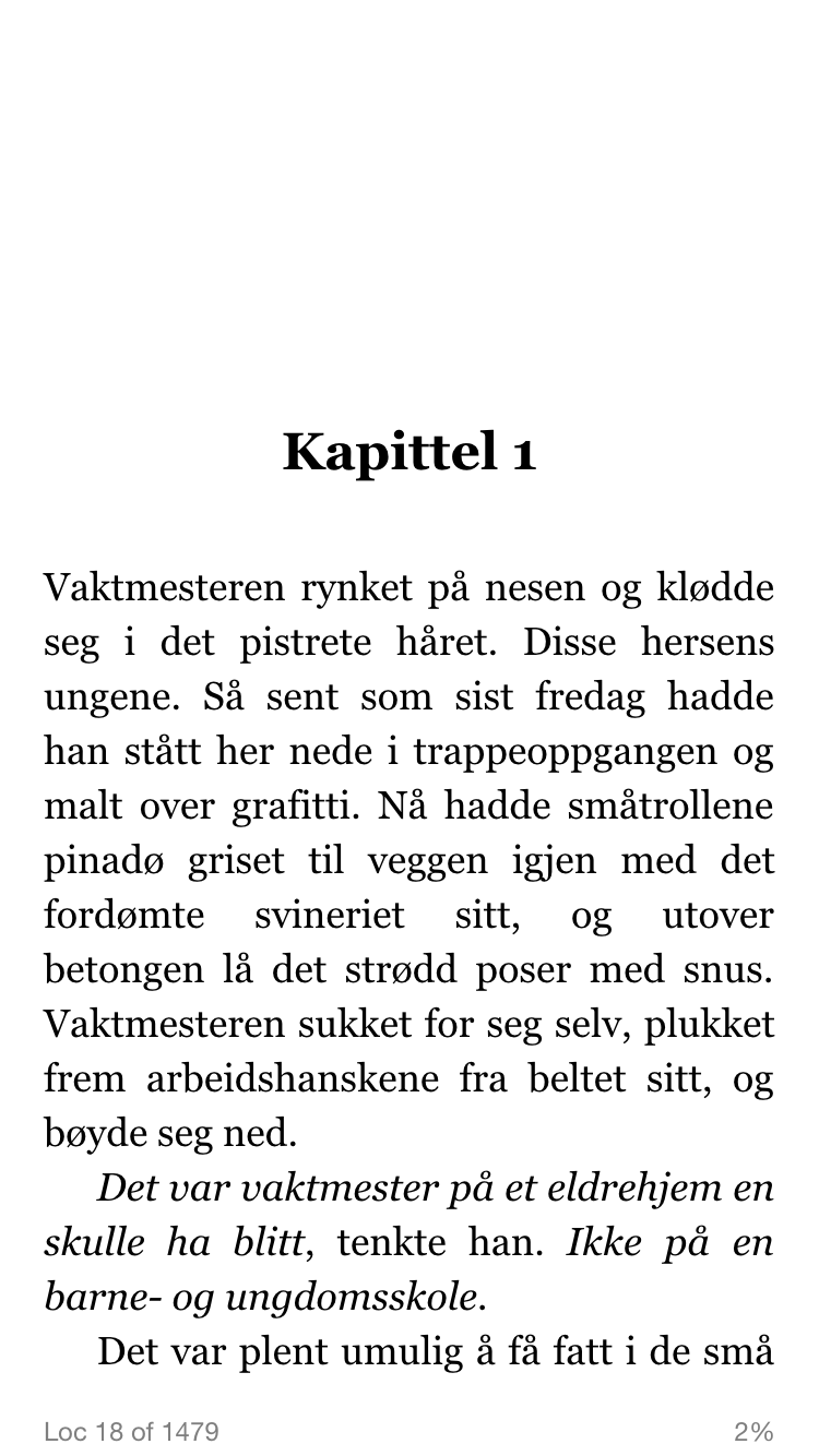 E-boker Kindle iPhone bok