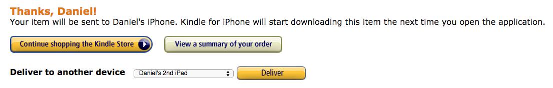 Kjøpt bok på Amazon