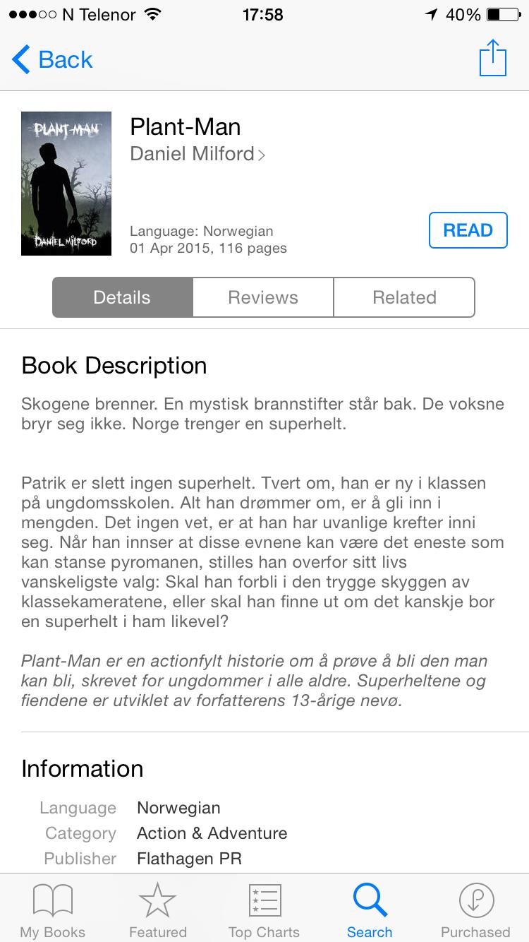 iBooks på iPhone