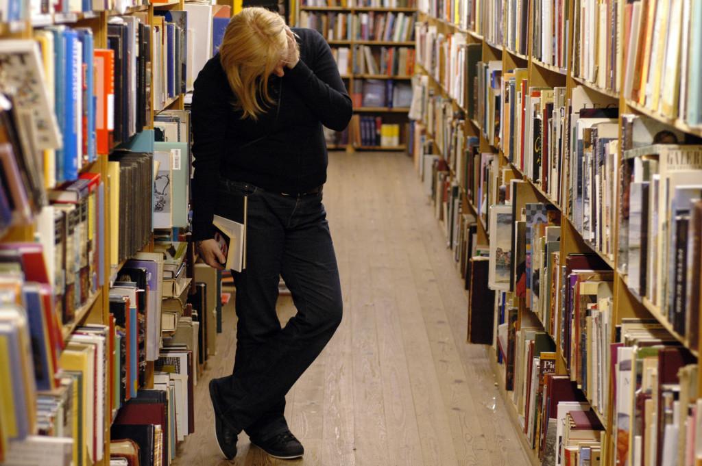 Bibliotek (Foto: Cinema Book Shop)