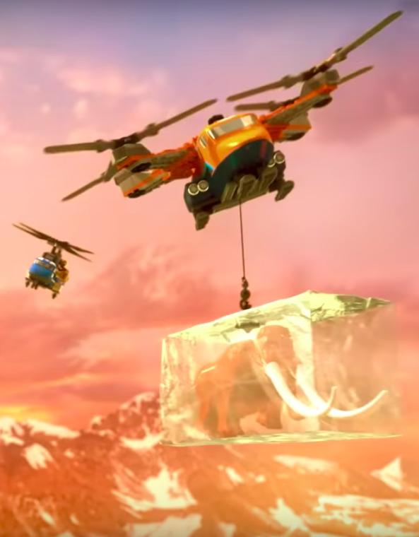 Lego Arctic Movie